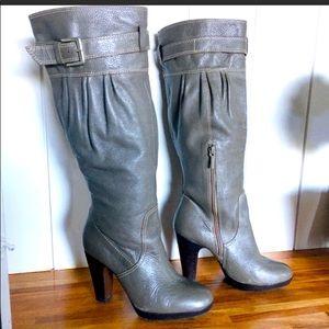 Zara Gray Boots GUC